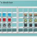 IKEAのデザインそのままのデスクトップ図解入り設置方法