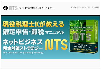ネットビジネス税金対策ストラテジー『NTS』